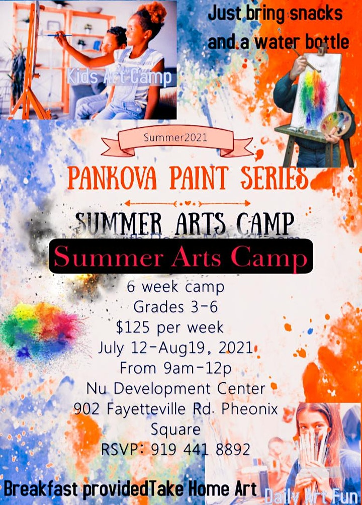 Summer Arts Camp 4Days image