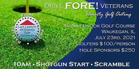 Drive FORE! Veterans tickets