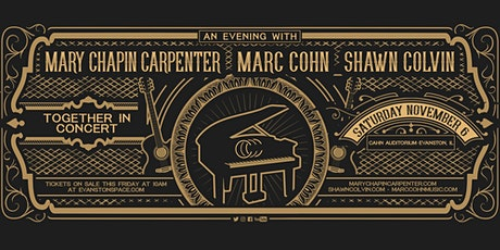 Mary Chapin Carpenter + Shawn Colvin + Marc Cohn: Together in Concert tickets