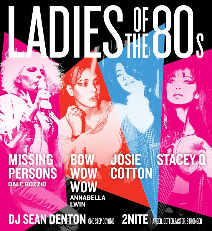 Ladies of the 80's! Feat. Missing Persons Live & More image