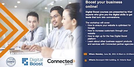 Digital Boost Workshop - Boost Your Business Online tickets