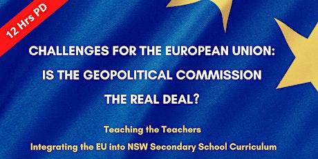 Teaching the Teachers: Integrating the EU into NSW Sec School Curriculum tickets
