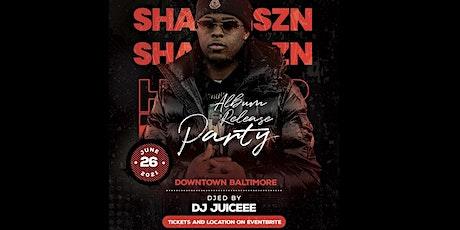 ShawnSZN Album Release Party tickets