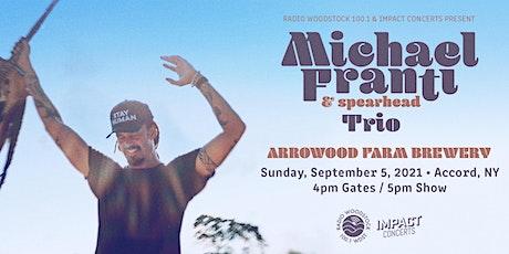 Michael Franti & Spearhead Trio tickets