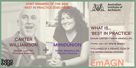 EmAGN NSW Talk Series : What is 'Best in Practice'? tickets