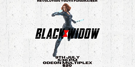 Black Widow Screening - Revolution Youth Fundraiser tickets
