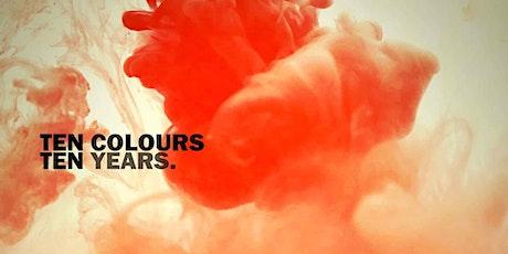 Ten Colors Ten Years tickets