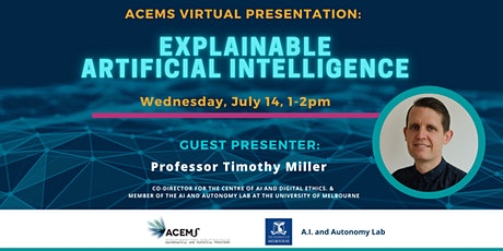 Explainability in Artificial Intelligence Presentation with Q&A Discussion tickets