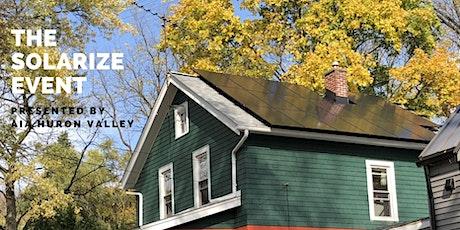 Ann Arbor Solarize – A Community Bulk-Buy Residential Solar Program tickets