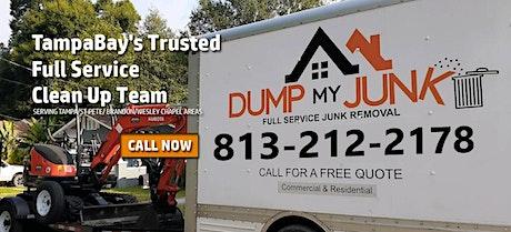 Full Service Junk Removal FREE ESTIMATES TampaBay Area tickets