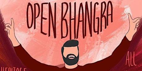Open Bhangra - Heritage Park tickets