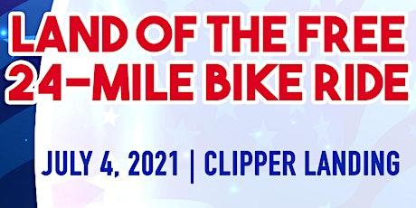 Land of the Free 24mi Bike Ride tickets