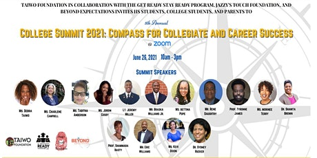 College Summit 2021: Compass for Collegiate and Career Success tickets