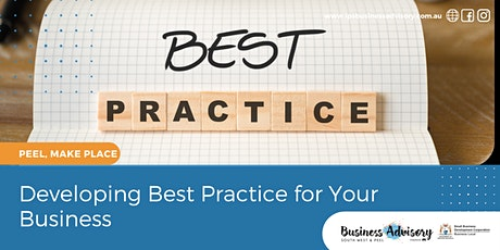 Developing Best Practice for Your Business tickets