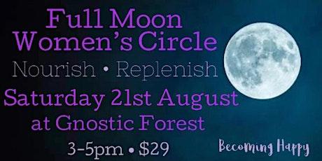 Full Moon in Aquarius Women's Circle - 21st August tickets