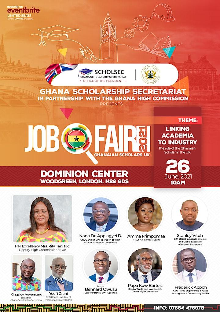 GHANA UK JOBFAIR 2021 image