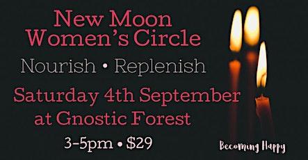 New Moon in Virgo Women's Circle - 4th September tickets