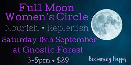 Full Moon in Pisces Women's Circle - 18th September tickets