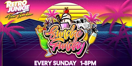 Sundae Funday  with LIVE Djs, Brunch, & Mimosas at Retro Junkie tickets