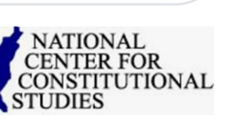 National Center for Constitutional Studies will be present 5 + hour study tickets