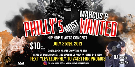 Philly's Most Wanted with Marcus G tickets