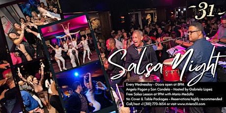 Salsa Night at Riviera 31 tickets