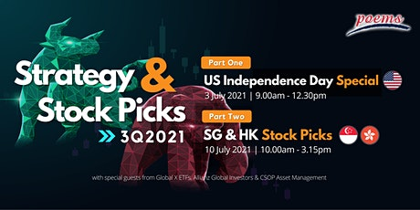 Strategy & Stock Picks - US Independence Day Special tickets