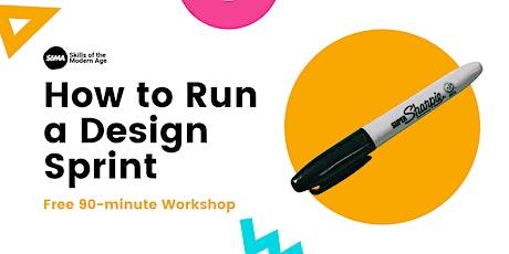 How to Run a Design Sprint tickets