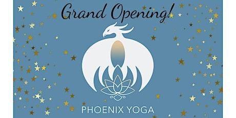 PHOENIX YOGA GRAND OPENING WEEKEND tickets