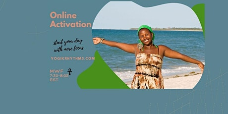 Online Morning Activation Tickets