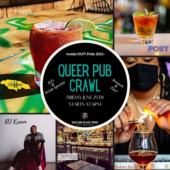 Inside/OUT! Pride 2021 - QUEER PUB CRAWL image