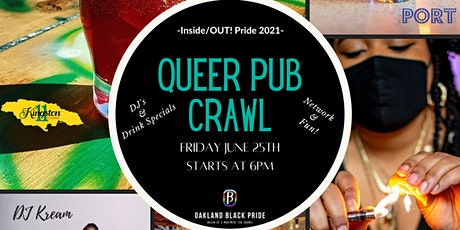 Inside/OUT! Pride 2021 - QUEER PUB CRAWL tickets