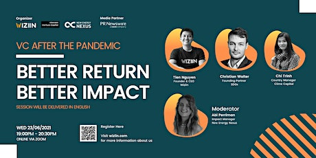 VC AFTER THE PANDEMIC | BETTER RETURN BETTER IMPACT tickets
