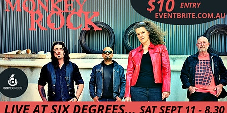 Monkey Rock LIVE at Six Degrees tickets