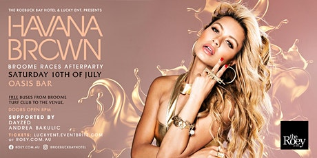 Havana Brown @ Roebuck Hotel tickets