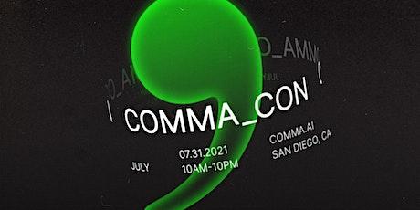 COMMA_CON tickets