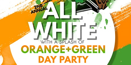 HHS ALUMNI ALL WHITE with a splash of ORANGE +GREEN DAY PARTY tickets