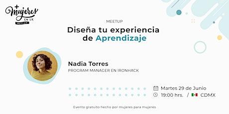+Mujeres en UX México Reunión Virtual  junio 2021 entradas