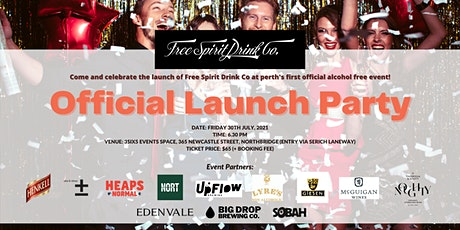 Free Spirit Drink Co. Official Launch Party tickets