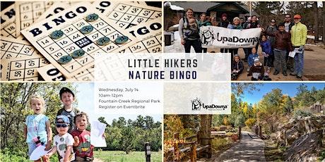 UpaDowna Little Hikers: Nature Bingo tickets