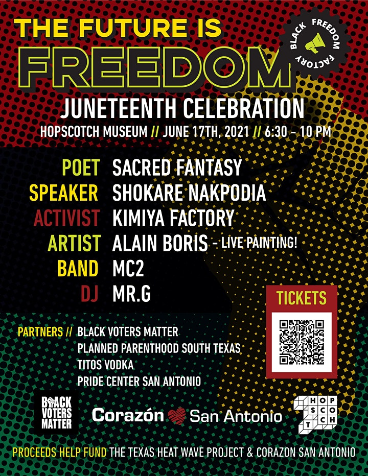 The Future is Freedom - Juneteenth Celebration image