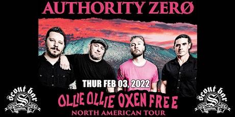 Authority Zero - Ollie Ollie Oxen Free Tour tickets