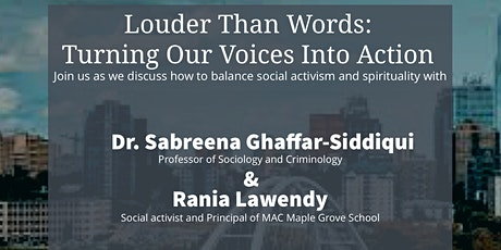 Louder Than Words: Turning Our Voices Into Action tickets