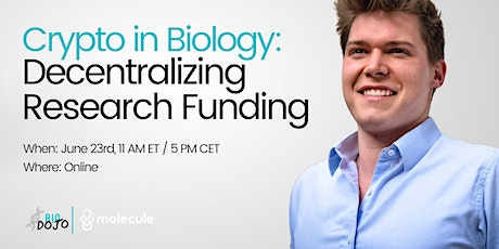 Decentralizing Research Funding: A presentation by Paul (Molecule) tickets