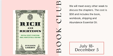 Rich & Righteous: Book Club Discussion tickets