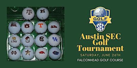 2021 Austin SEC Club Golf Tournament tickets