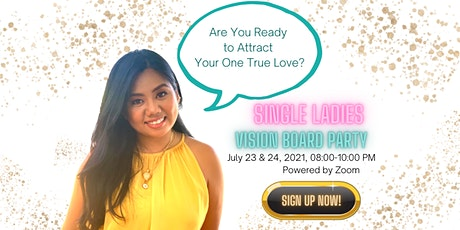 Single Ladies Vision Board Party with PositiviTrix tickets