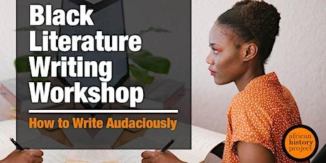 Black Literature Writing Workshop tickets