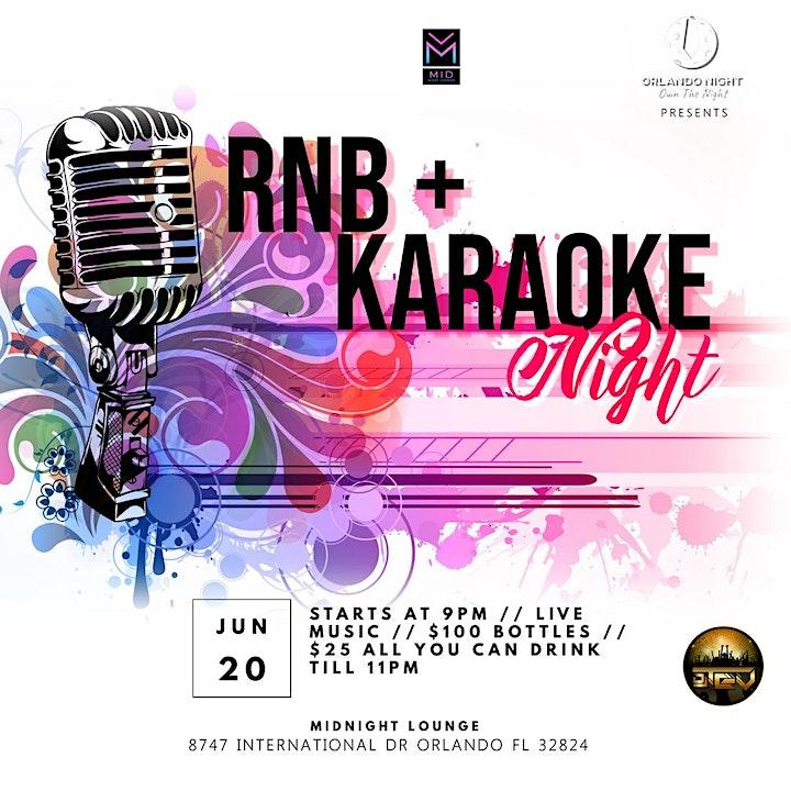 R&B karaoke night image