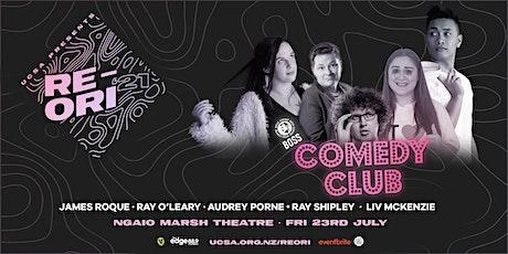 UCSA RE-ORI 2021 | Boss Coffee Comedy Club (R18) tickets